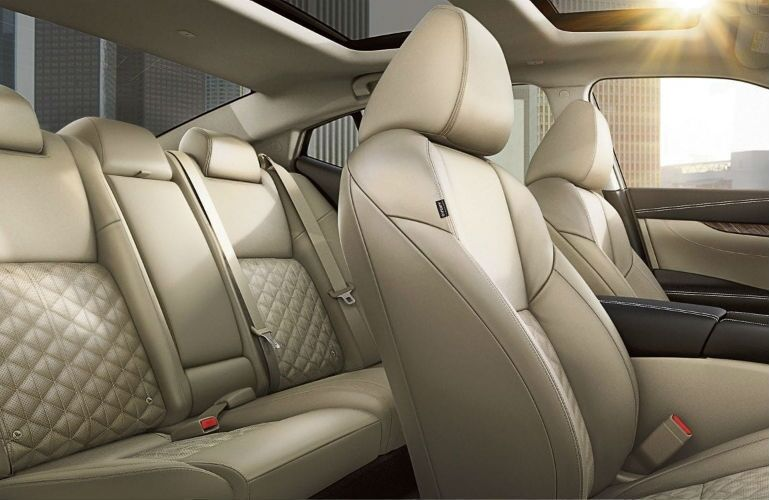 2018 Nissan Maxima view of seating