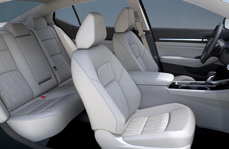 2019 Nissan Altima White Interior Side Shot Passenger Side