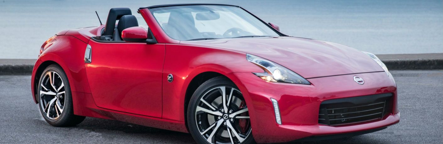 2019 Nissan 370Z Roadster front and side profile