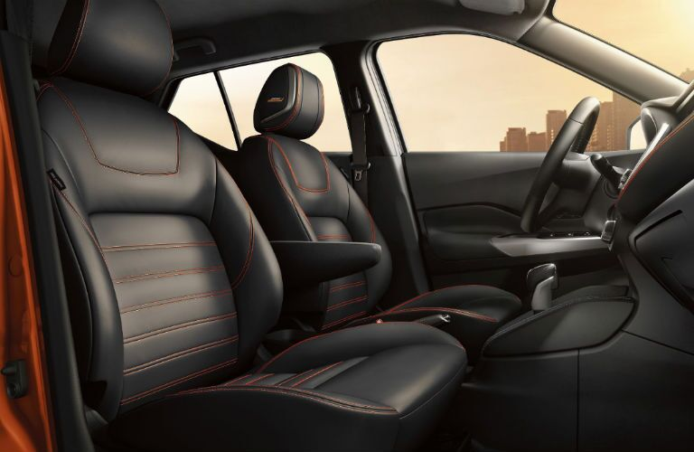2019 Nissan Kicks front seating