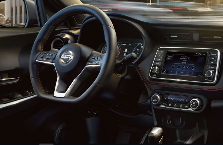 2019 Nissan Kicks dashboard