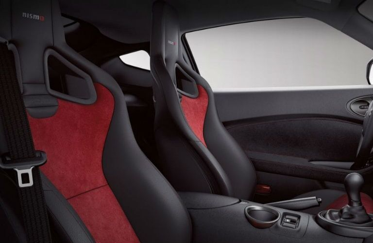 2019 Nissan 370Z Coupe NISMO with Black Leather and Red Alcantara seating