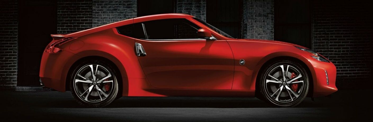 2019 Nissan 370Z Coupe Sport in Passion Red