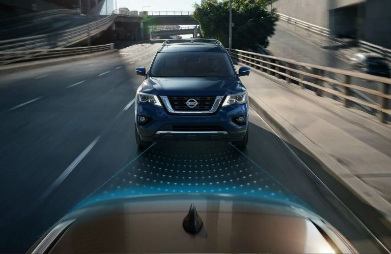 2019 Nissan Pathfinder with Nissan Intelligent Mobility technologies