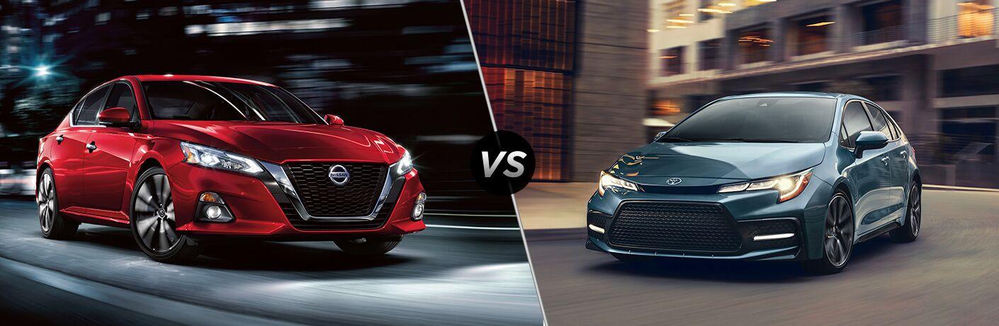 2020 Nissan Altima vs 2020 Toyota Corolla
