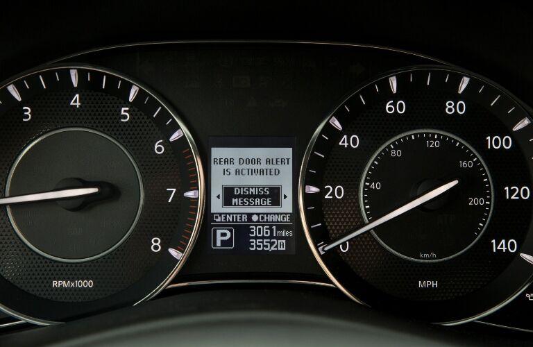 2020 Nissan Armada Rear Door Alert System