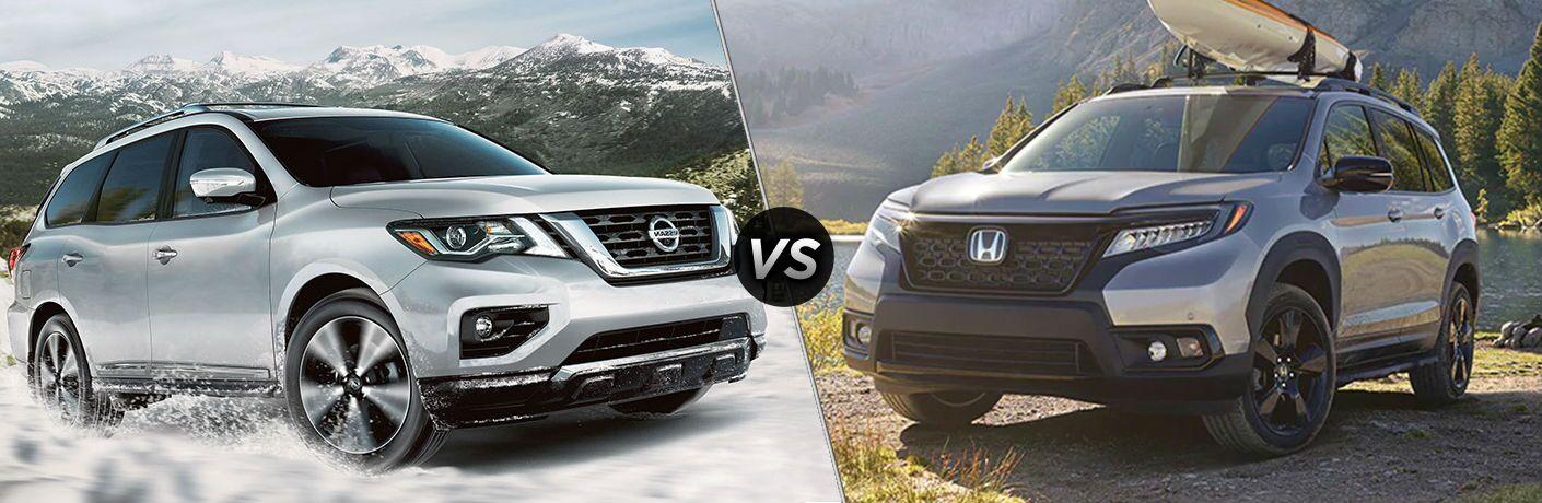 2020 Nissan Pathfinder vs 2020 Honda Passport