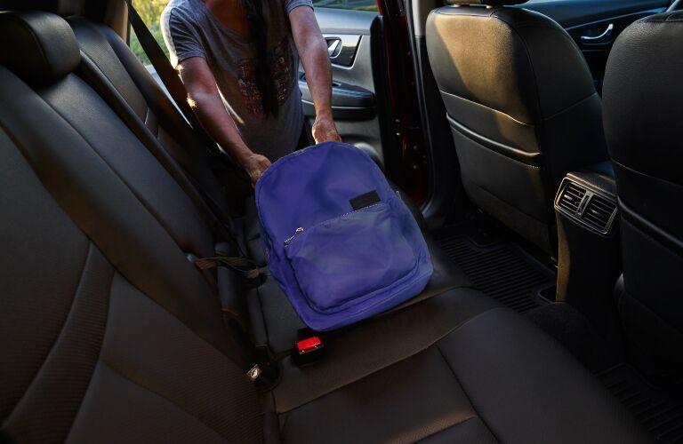 2020 Nissan Rogue back seat