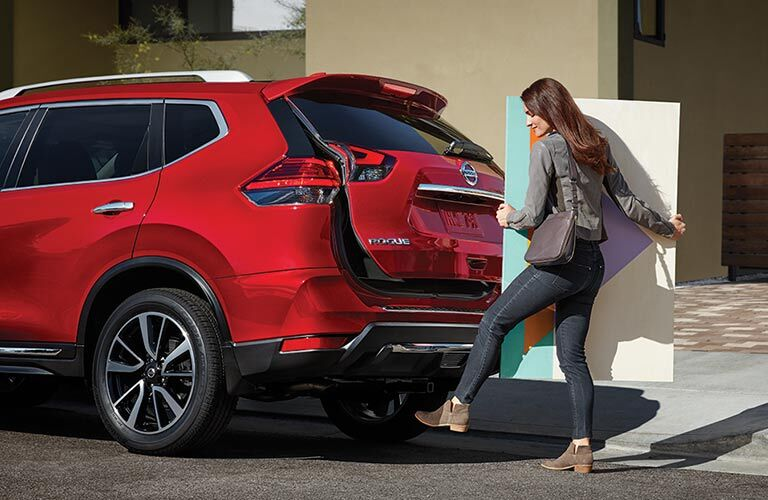 2018 Nissan Rogue liftgate