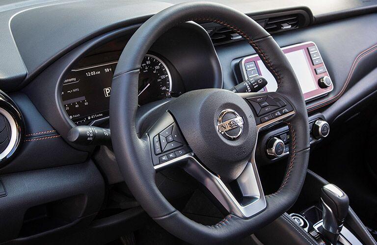 2018 Nissan Kicks steering wheel