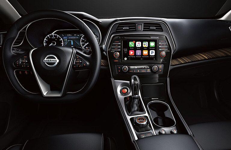 2019 Nissan Maxima front interior