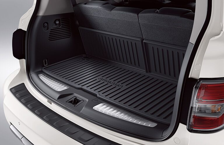 2019 Nissan Armada with trunk open