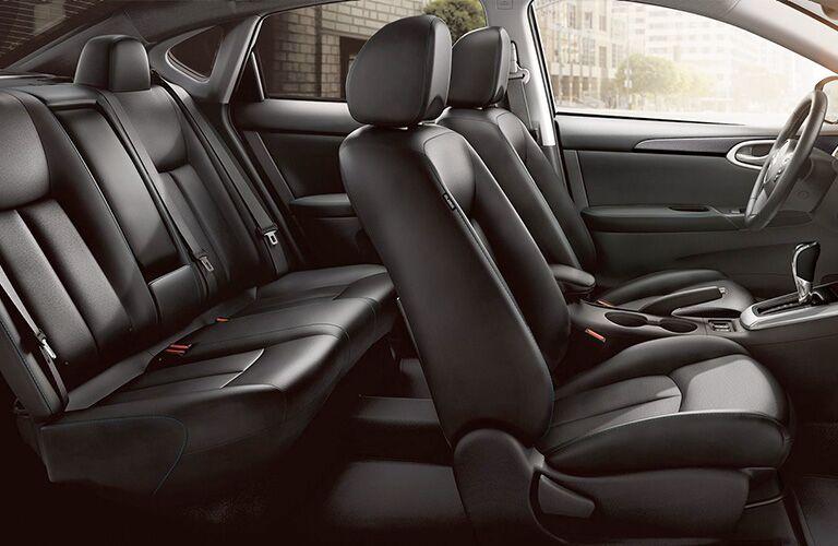 2019 Nissan Sentra interior seating