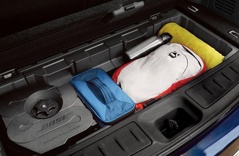 2020 Nissan Pathfinder under-floor storage bin