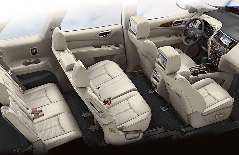 2020 Nissan Pathfinder interior profile