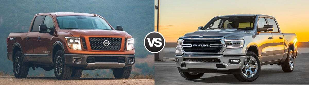 2019 Nissan Titan vs 2019 Ram 1500