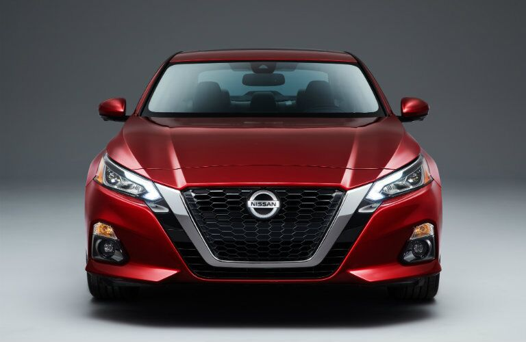 custom grille on new nissan