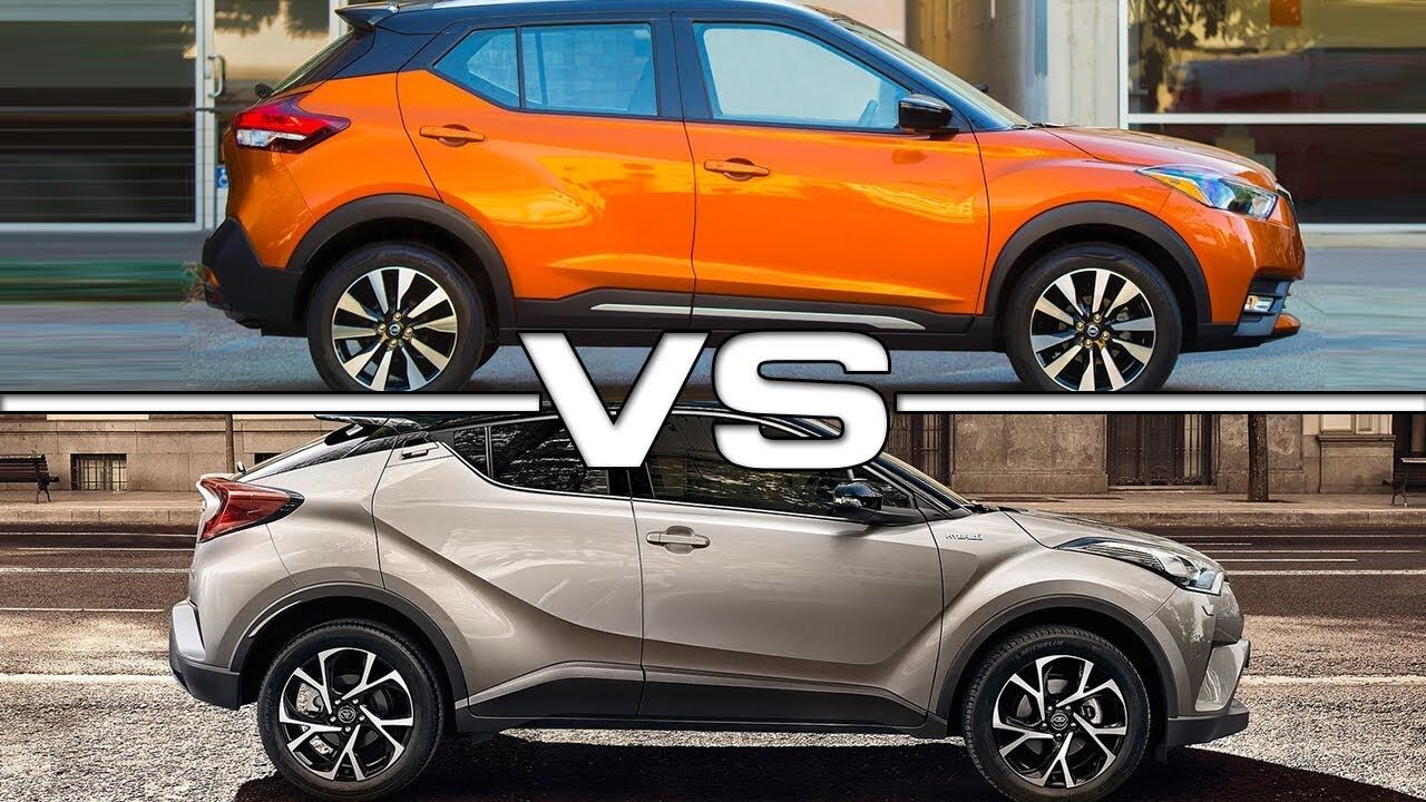 Nissan kicks vs toyota chr