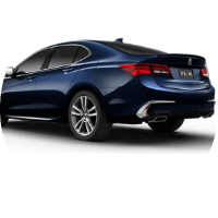 dark blue 2019 Acura TLX Advance