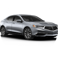 silver 2019 Acura TLX Technology