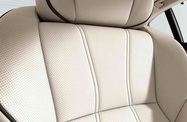 close up of seat in the 2019 Acura RLX