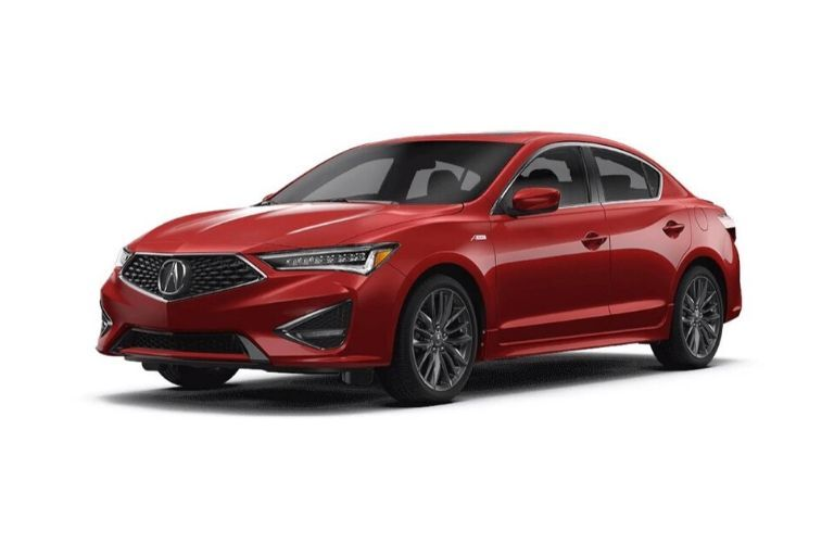 Image of a red 2020 Acura ILX A-Spec® Package