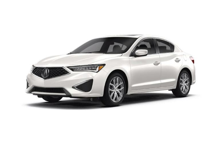 Image of a white 2020 Acura ILX Standard Package