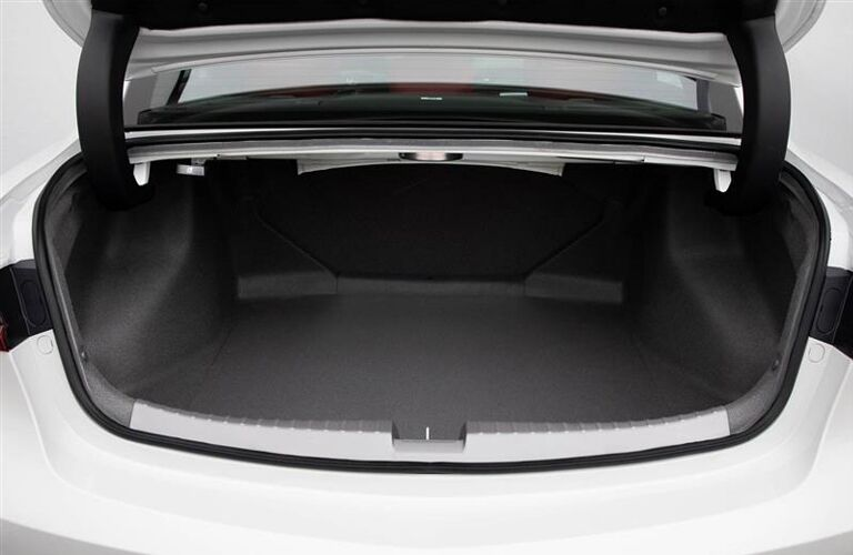 Trunk in white 2020 Acura ILX