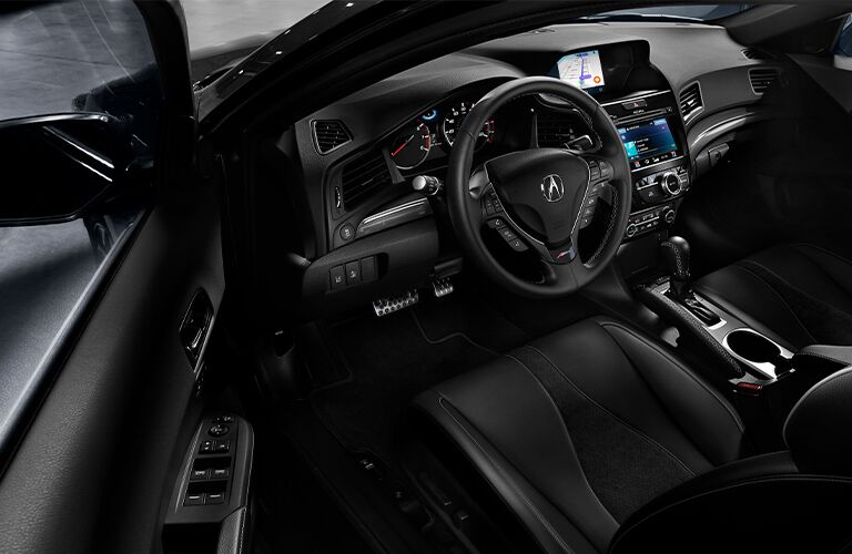 2021 Acura ILX A-Spec Steering Wheel and Dashboard