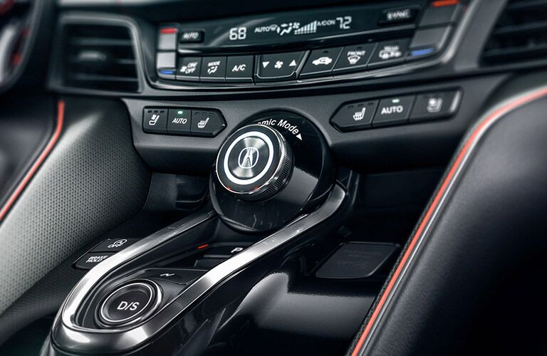 Close Up of 2021 Acura TLX Center Console