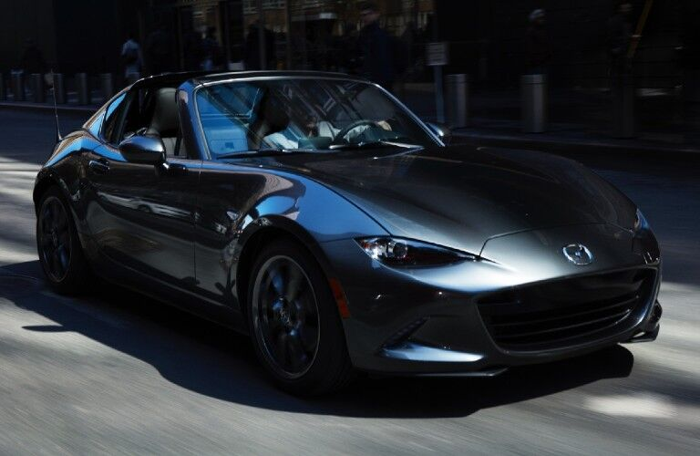 A 2021 Mazda MX-5 Miata