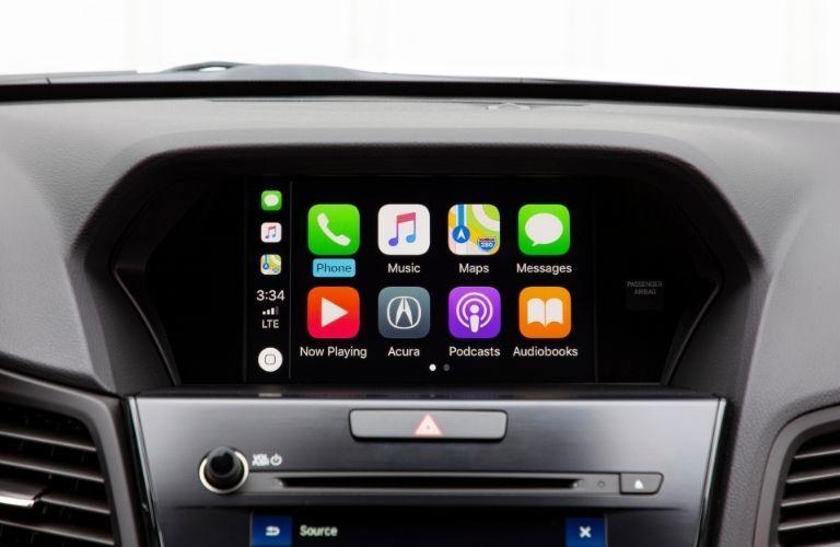 2021 Acura ILX Apple CarPlay screen
