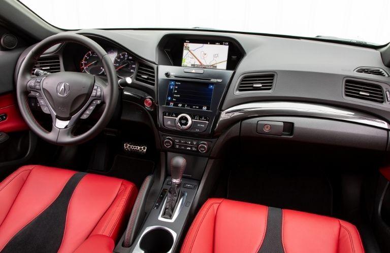 2021 Acura ILX driver cockpit