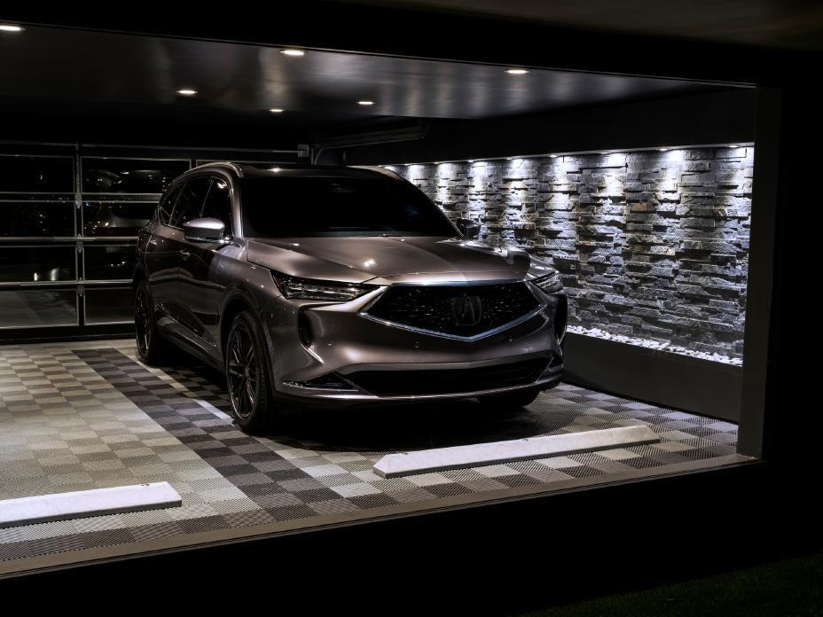 brown 2022 Acura MDX Advance