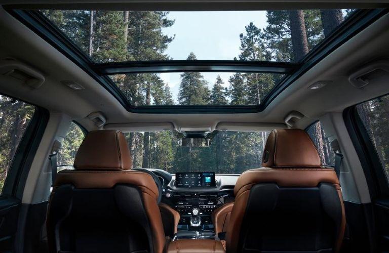 interior of 2022 Acura MDX Advance