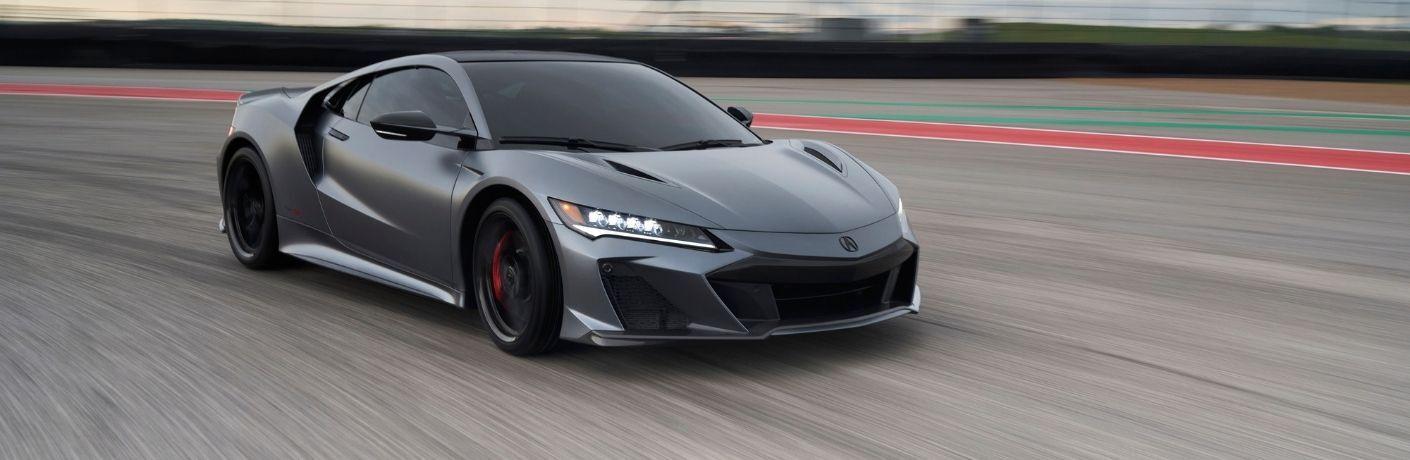 2022 Acura NSX Type S cruising through the track