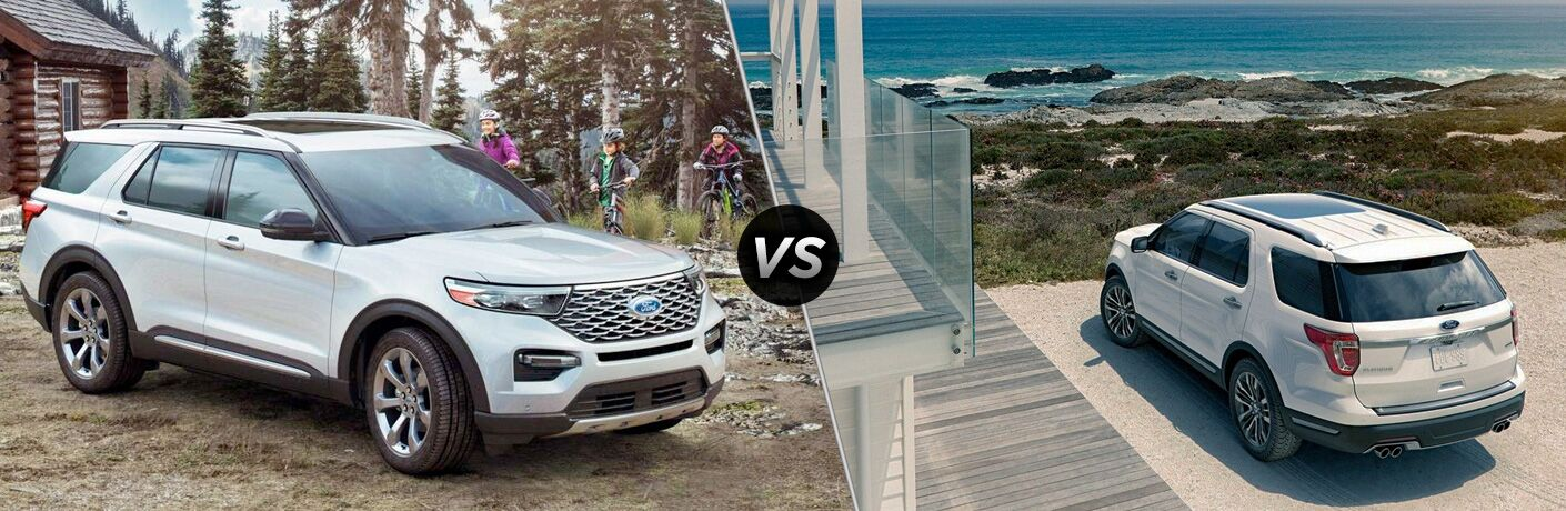 2020 Ford Explorer vs 2019 Ford Explorer