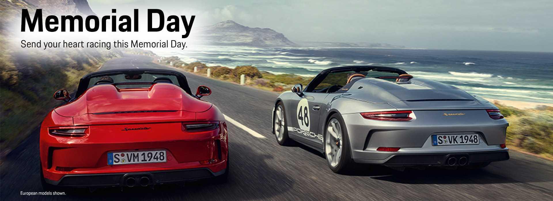2019 Porsche Memorial Day