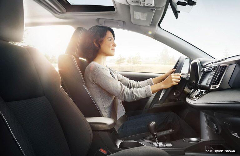 2016 rav4 interior safety features
