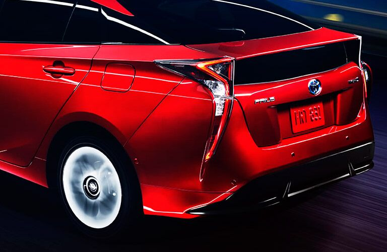 2016 toyota prius exterior red redesign cargo space wheels