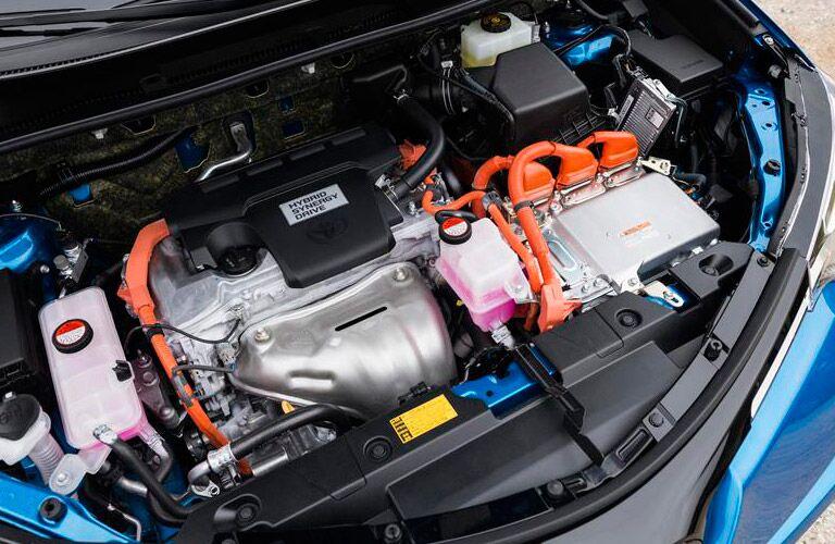 2016 toyota rav4 hybrid engine exterior blue
