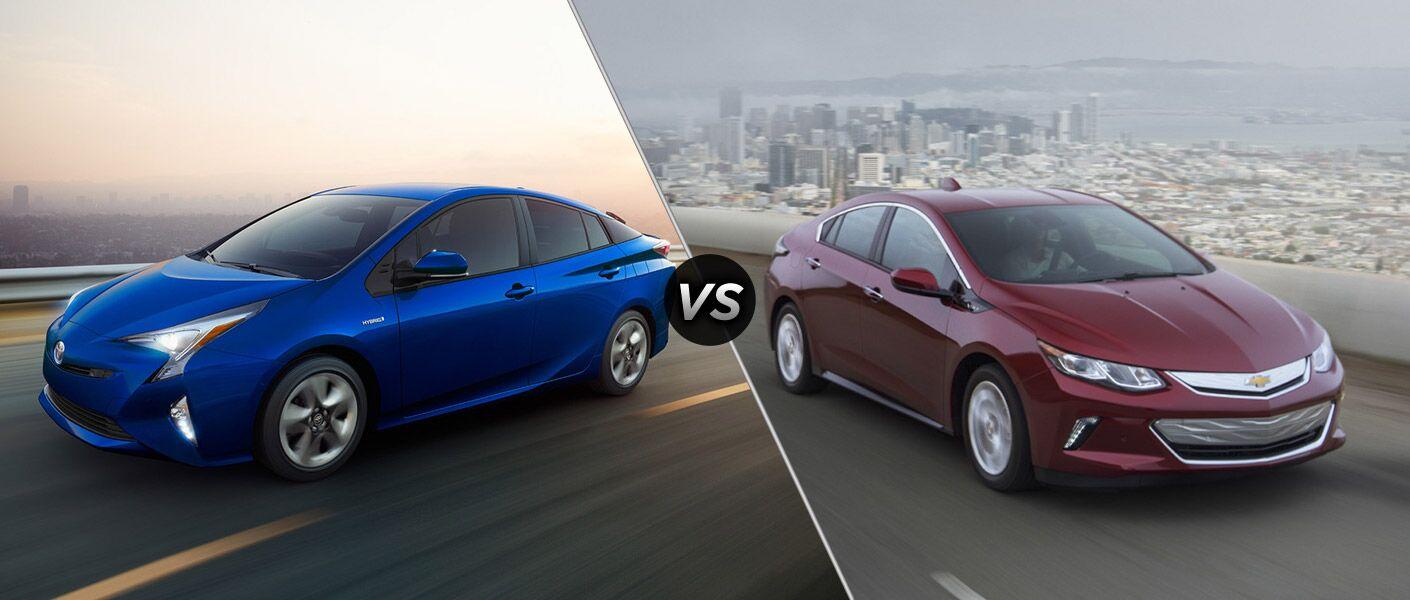 2016 Toyota Prius vs 2016 Chevy Volt
