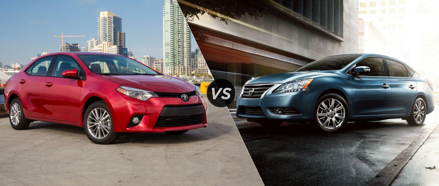 2016 toyota corolla vs 2016 nissan sentra fuel economy horsepower