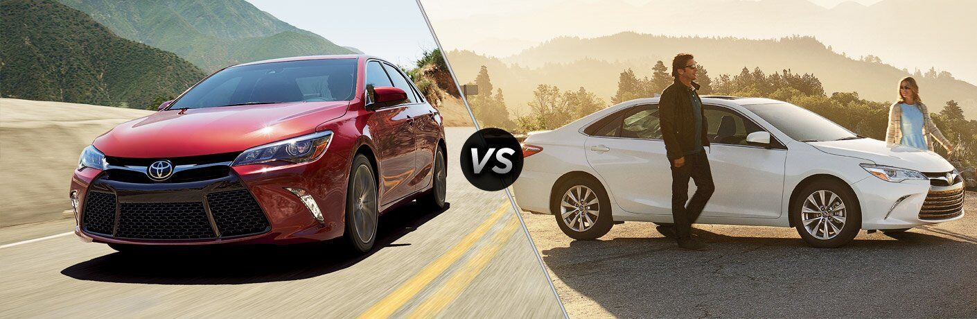 2017 toyota camry xse vs 2017 toyota camry xle