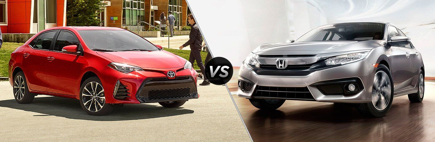 2017 toyota corolla vs 2017 honda civic