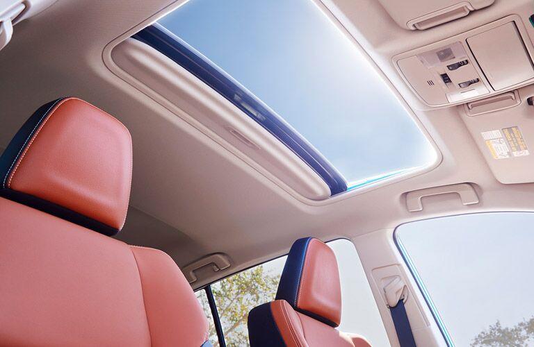 2017 toyota rav4 interior sunroof
