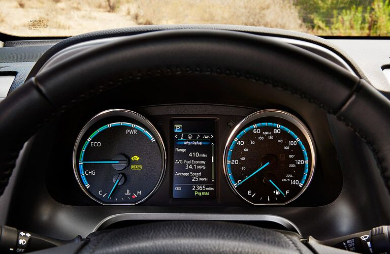 2017 Toyota RAV4 gauge cluster