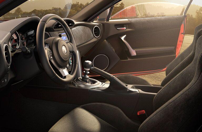 2017 toyota 86 interior seats dashboard steering wheel