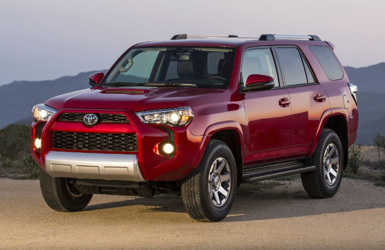 2018 Toyota 4Runner Exterior Driver Side Front Angle