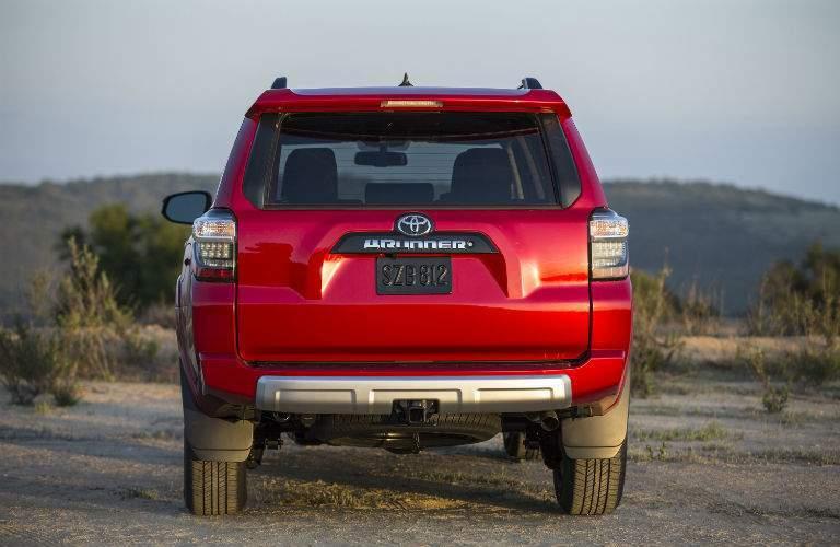 2018 Toyota 4Runner Exterior Rear Fascia